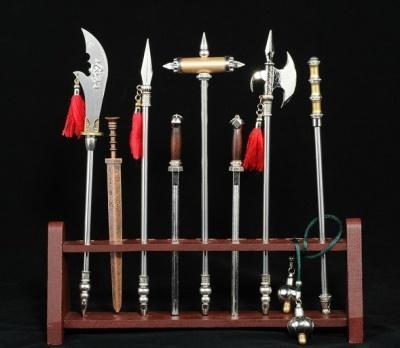 中国古代兵器十八般大全套